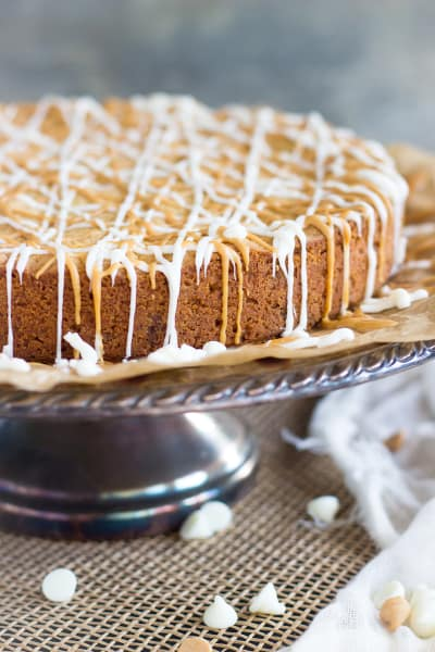 White Chocolate Peanut Butter Blondies Picture