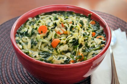 Turkey Florentine Soup