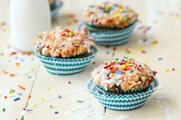 Birthday Cake Muffins Photo
