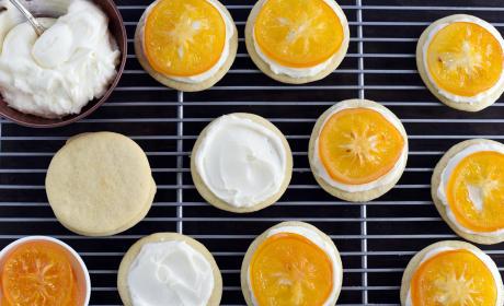 Candied Meyer Lemon Cookies