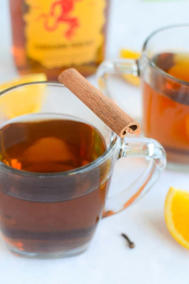 Hot Spiked Cider - Food Fanatic