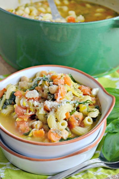 Chickpea Vegetable Soup Picture