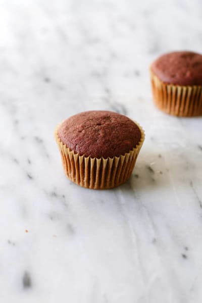 Vegan Red Velvet Cupcakes Picture
