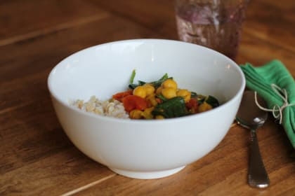 Indian Chickpea Stew