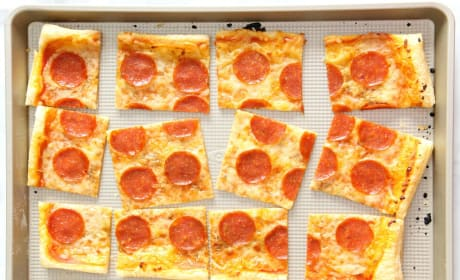 Puff Pastry Pepperoni Pizza Recipe