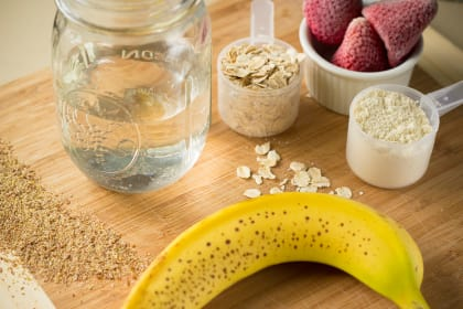 Oatmeal Smoothie: Power Breakfast