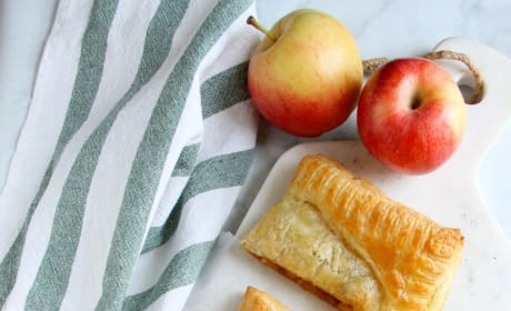 Puff Pastry Apple Slab Pie Image