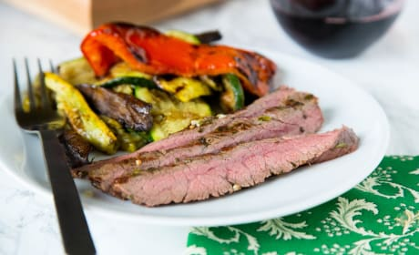 Grilled Chile Lime Flank Steak Image