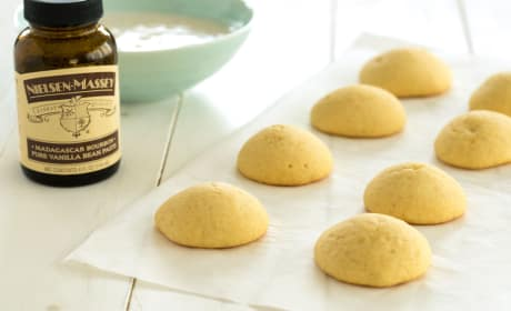 Vanilla Cookies with Vanilla Bean Glaze Recipe