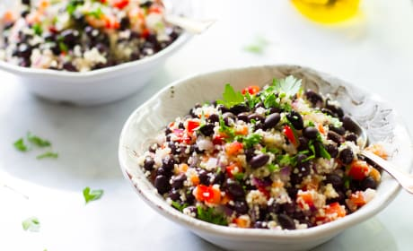 Black Bean Couscous Salad Recipe