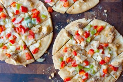 Chicken Fajita Flatbread