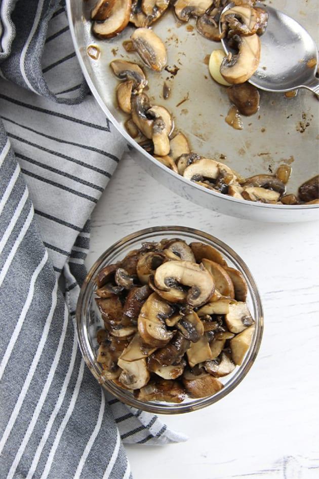 Mushroom Pasta Image