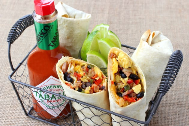 Southwestern Breakfast Burritos Photo