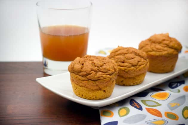 Whole Wheat Pumpkin Muffins Picture