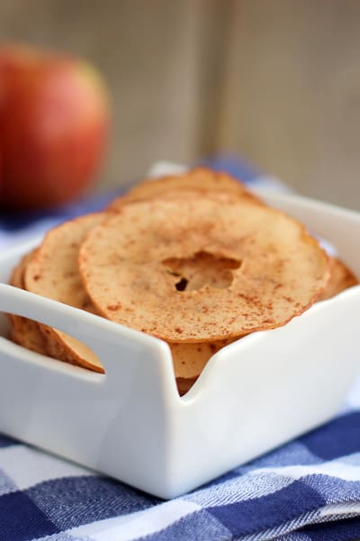 Baked Apple Chips Picture
