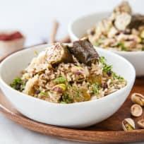 Dolma Rice Bowl Recipe