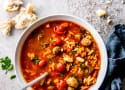 Slow Cooker Tuscan White Bean Soup with Sausage