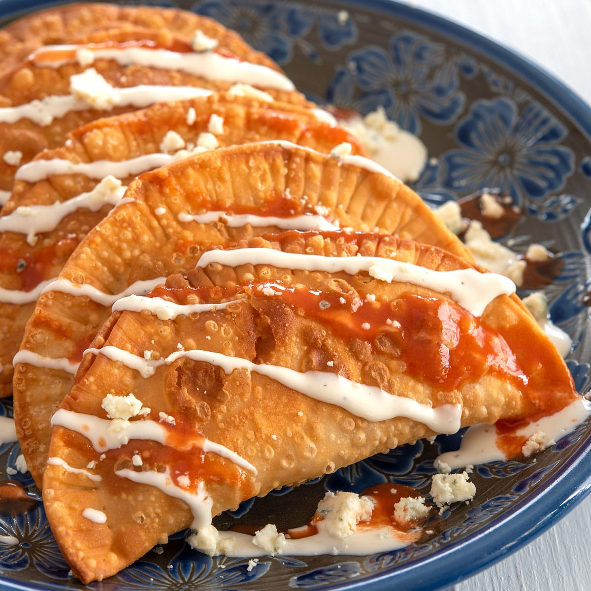 Buffalo Chicken Empanadas Recipe Food Fanatic