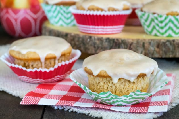 Glazed Apple Cider Muffins Photo
