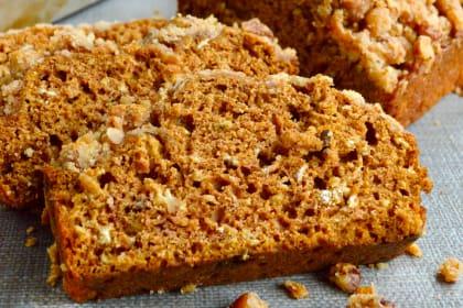 Healthy Sweet Potato Crunch Bread