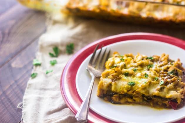 Low Carb Lasagna Pic