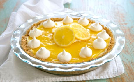Lemon Cream Cheese Pie Recipe