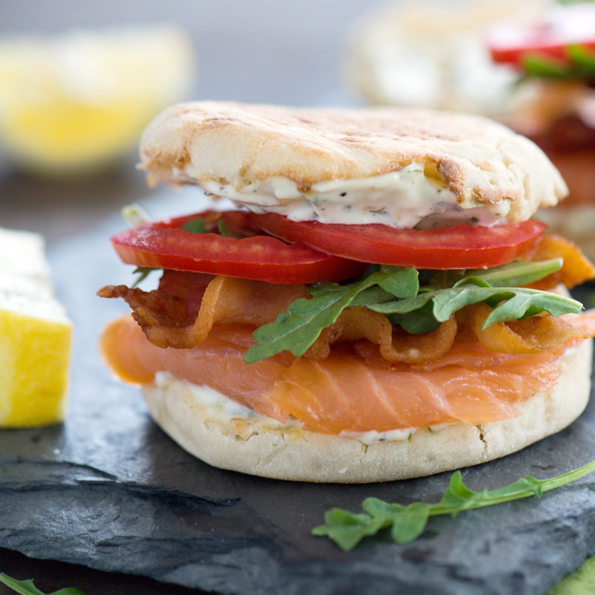 Salmon BLTs with Lemon-Dill Mayo Salmon BLTs with Lemon-Dill Mayo new picture