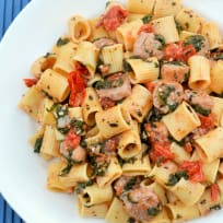 Rigatoni with Sausage Recipe