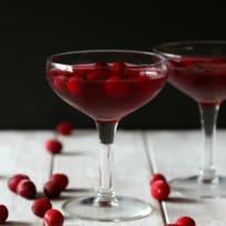 Cranberry Gimlet Recipe