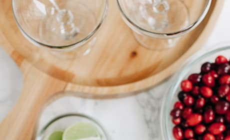 Cranberry Gimlet Recipe Picture
