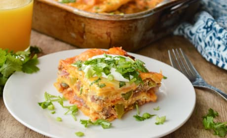 Enchilada Breakfast Casserole Recipe