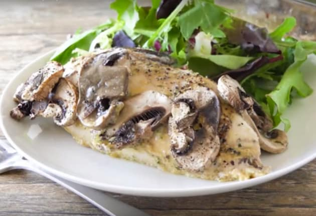 Honey-Dijon Chicken and Mushrooms