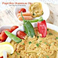Paprika Hummus Dip