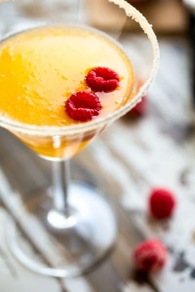 Peach Martini Picture