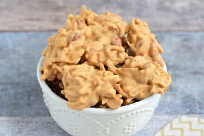 No Bake Haystack Cookies