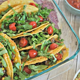 Baked tacos photo