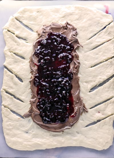 Chocolate Cherry Bread Image
