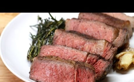 How to Make Steak with Garlic Butter