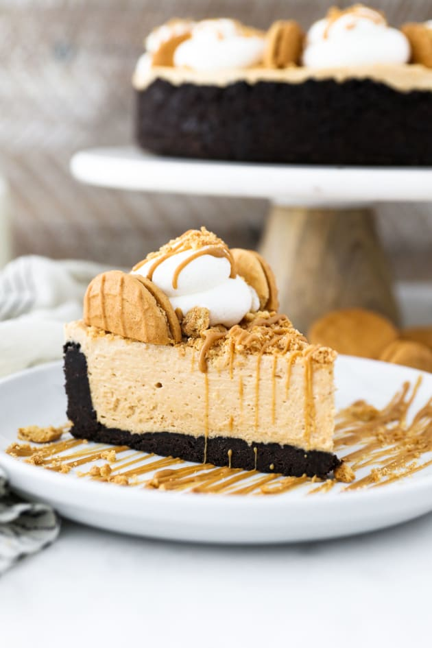 No Bake Peanut Butter Marshmallow Pie Pic