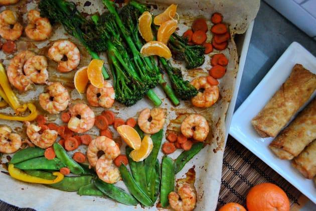 Sheet Pan Shrimp Stir-Fry Pic
