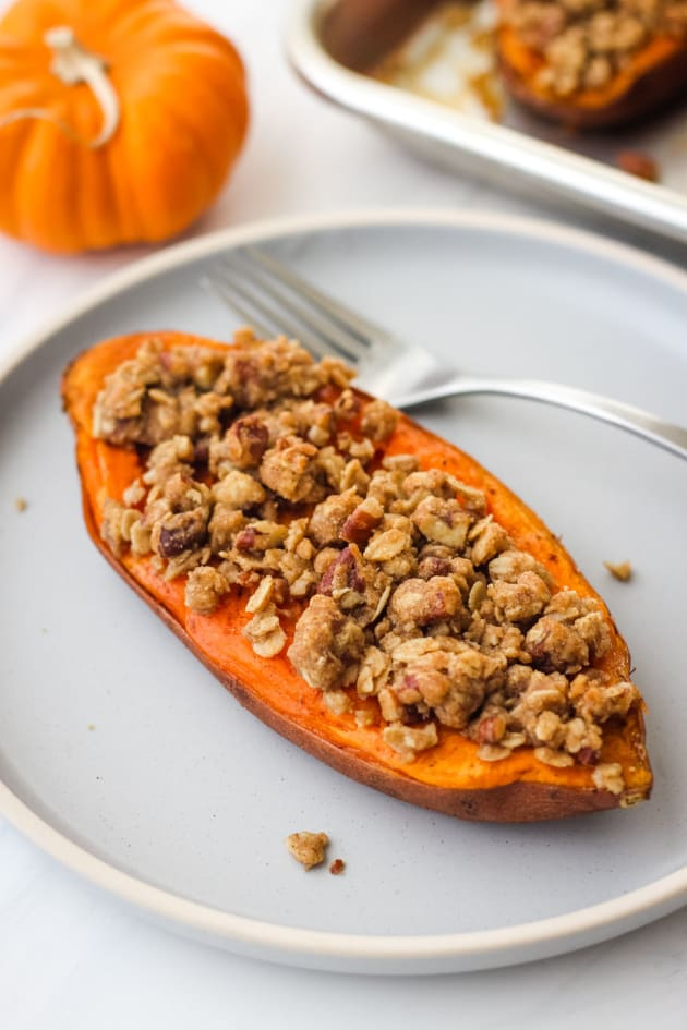 Streusel Topped Sweet Potatoes Picture