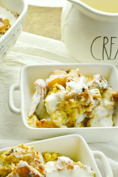 Cinnamon Raisin Bread Pudding Picture