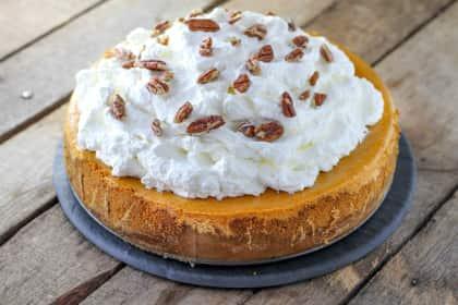 Cheesecake Factory Pumpkin Cheesecake
