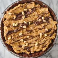 Spicy Chocolate Peanut Butter Pie Recipe