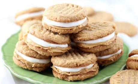 Fluffernutter Cookie Sandwiches Recipe