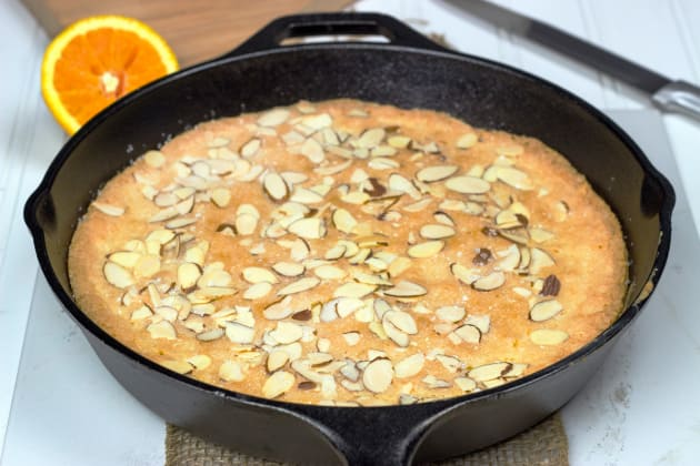 Almond Skillet Cake Photo
