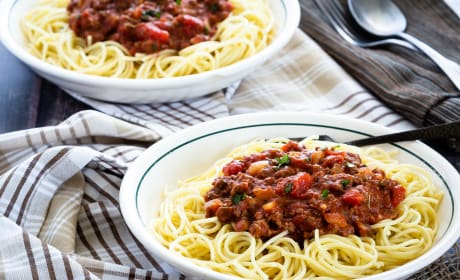 Homemade Spaghetti Sauce Recipe