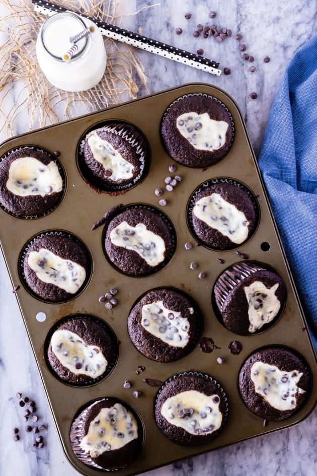 Black Bottom Cupcakes Image