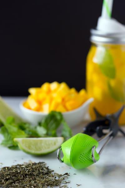 Sweet Mango Green Tea Pic
