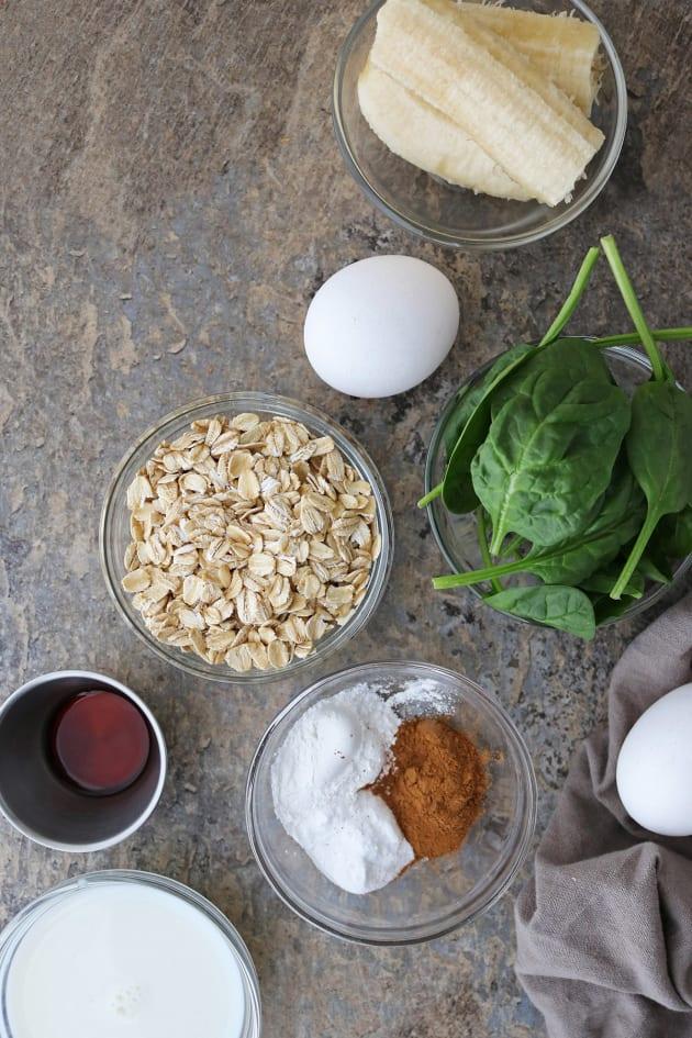 Green Smoothie Pancakes Image
